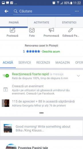 Bilka Ploiesti Faceboook - Actualizare